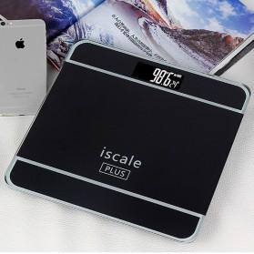 Taffware Digipounds Timbangan Badan Digital dengan Indikator Suhu - SC-09 - Black