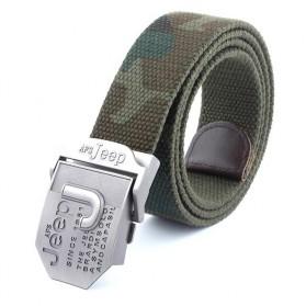 JEEP Tali Ikat Pinggang Canvas - AFS - Camouflage - 4