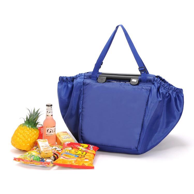 Tas Belanja Lipat Trolley Shopping Bag - Dark Blue - JakartaNotebook.com 07b6d2ae59