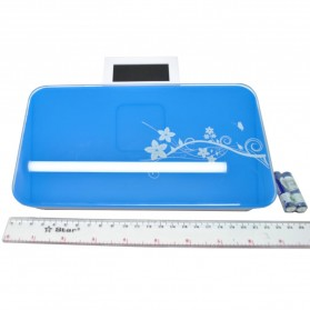 Timbangan Badan Mini Digital 180Kg - Taffware SC-03 - Blue - 3