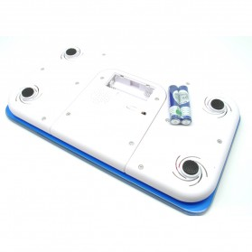 Timbangan Badan Mini Digital 180Kg - Taffware SC-03 - Blue - 4