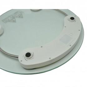 Taffware Digipounds Gohide Timbangan Badan Kaca Digital 180Kg Large Size - 2003A - Transparent - 3