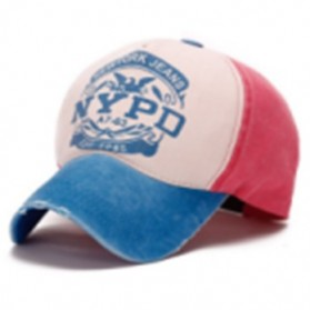 FLB Topi Baseball Snapback NYPD Sport Fashion - S8R - Sky Blue
