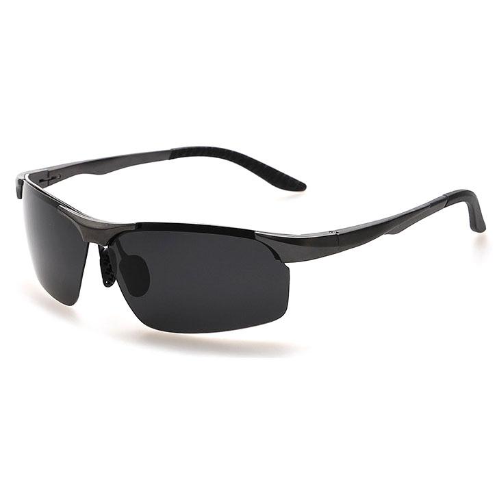 ... Kacamata Hitam Polarized Magnesium Sunglasses untuk Pria   Wanita -  2102 - Black Black ... bdaa772026