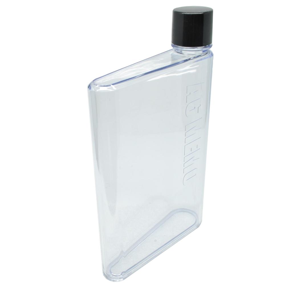 Memobottle A5 Letter Reusable Water Bottles 750ml Botol Minum Memo Bottle Unik A6 350ml Transparent