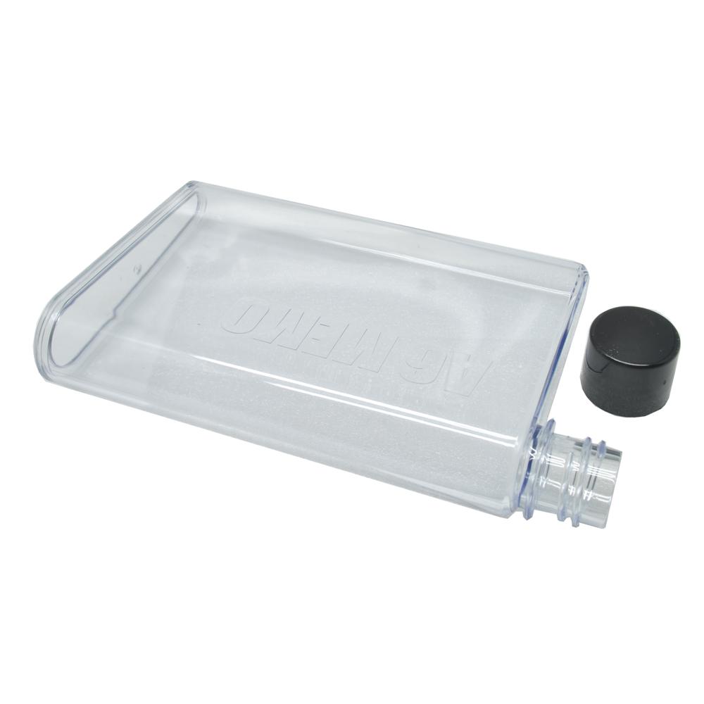 Mini Memobottle A6 Letter 350 Ml Botol Minum Thermos Super Slim Elektronik Lunch Box Sj0052 Reusable Water Bottles 350ml Transparent