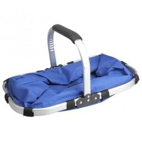 Keranjang Belanja Lipat Portable Shopping Bag - Blue - 2