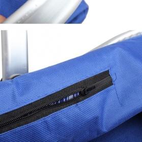 Keranjang Belanja Lipat Portable Shopping Bag - Blue - 4