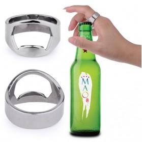 Cincin Pembuka Tutup Botol Bir - Silver