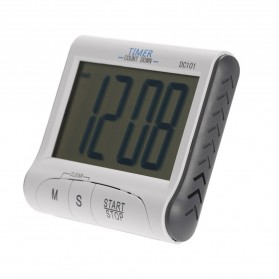 Timer Masak Dapur LCD Digital Count Down - DC101 - White - 2