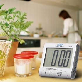 Timer Masak Dapur LCD Digital Count Down - DC101 - White - 7