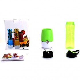Shake n Take 3 Blender Buah Dobule Cup Portable 2 in 1 500ml - Blue - 6