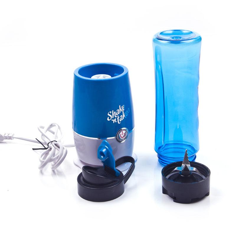 Blender Buah Dobule Cup Portable 2 In 1 500ml Blue