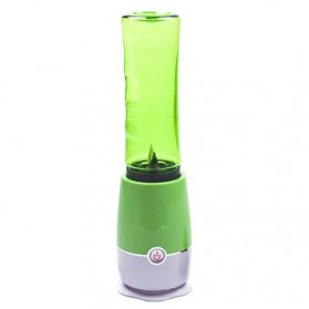 Blender Buah Dobule Cup Portable 2 in 1 500ml - Green