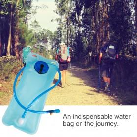 TaffSPORT Kantung Air Minum Sepeda Bike Water Bladder Hydration Backpack 2L - SD16 - Blue