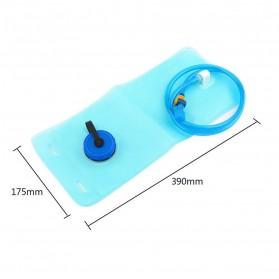 TaffSPORT Kantung Air Minum Sepeda Bike Water Bladder Hydration Backpack 2L - SD16 - Blue - 7