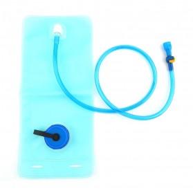 TaffSPORT Kantung Air Minum Sepeda Bike Water Bladder Hydration Backpack 2L - SD16 - Blue - 9