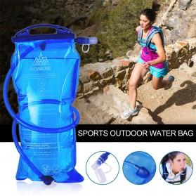 TaffSPORT Kantung Air Minum Sepeda Bike Water Bladder Hydration Backpack 2L - SD16 - Blue - 10