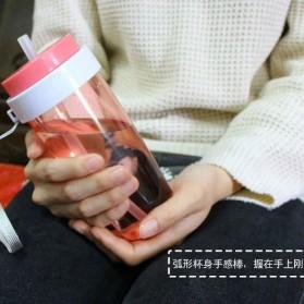Botol Minum Cup Bottle - Navy Blue - 8