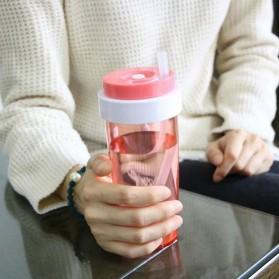 Botol Minum Cup Bottle - Navy Blue - 9