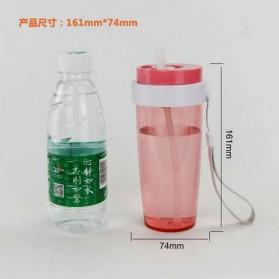 Botol Minum Cup Bottle - Navy Blue - 10