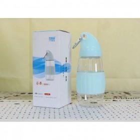 Botol Minum Model Mangga BPA Free 350ml - Blue - 3
