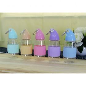 Botol Minum Model Mangga BPA Free 350ml - Blue - 8