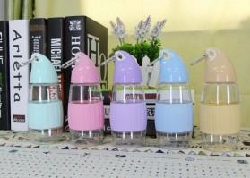 Botol Minum Model Mangga BPA Free 350ml - Blue - 9
