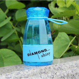Botol Minum Diamond Shiny BPA Free 450ml - Blue
