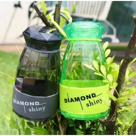 Botol Minum Diamond Shiny BPA Free 450ml - Blue - 4