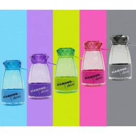 Botol Minum Diamond Shiny BPA Free 450ml - Blue - 7