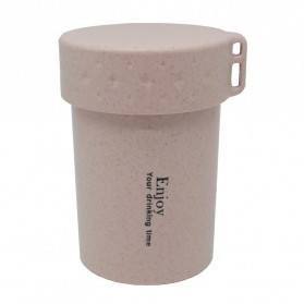 Botol Minum Enjoy Your Drinking BPA Free Unbreakable Bottle 250ml - Pink - 1