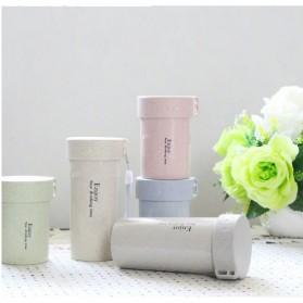 Botol Minum Enjoy Your Drinking BPA Free Unbreakable Bottle 250ml - Pink - 2