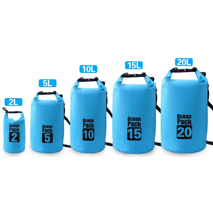 ... Outdoor Waterproof Bucket Dry Bag 10 Liter - Black - 5 ...