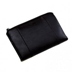 Dompet Kulit Pria Luxury Premium Leather Wallet - Black