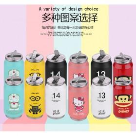 Botol Minum Kaleng Termos Insulated Mug 300ml / Thermos - Pink - 3