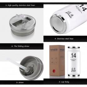 Botol Minum Kaleng Termos Insulated Mug 300ml / Thermos - Red - 3