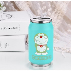 Botol Minum Kaleng Termos Insulated Mug 300ml / Thermos - Blue - 1