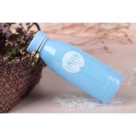 Botol Minum Plastik Milk Insulation Cup 360ml - SM-8396 - Blue