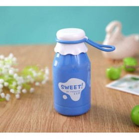 Botol Minum Sweet Fashion Cup Solid Color 350ml - SM-8406 - Blue