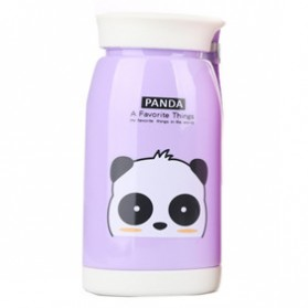 Botol Minum Plastik Cartoon Animal 480ml - SM-8232 - Purple