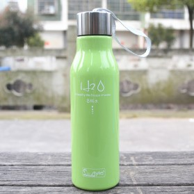 Botol Minum H2O a Healthy Life Unbreakable Bottle 600ml - SM-8229 - Blue - 5