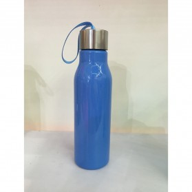 Botol Minum H2O a Healthy Life Unbreakable Bottle 600ml - SM-8229 - Blue - 9