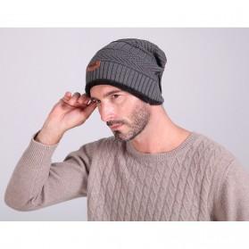 Song Ting Kupluk Wool Winter Beanie Hat - Dark Blue - 6