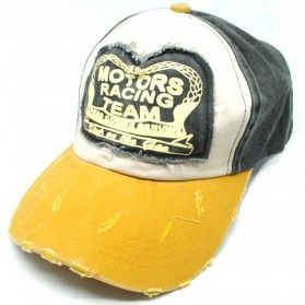 Rhodey Topi Baseball Snapback Motors Racing Team - NM261 - Yellow - 1