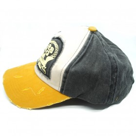 Rhodey Topi Baseball Snapback Motors Racing Team - NM261 - Yellow - 2