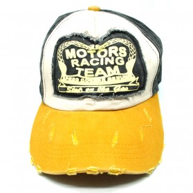Rhodey Topi Baseball Snapback Motors Racing Team - NM261 - Yellow - 3