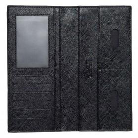 Rhodey Dompet Kulit Model Panjang - C3027 - Black - 5