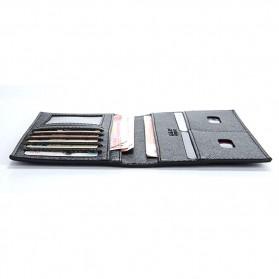 Rhodey Dompet Kulit Model Panjang - C3027 - Black - 6