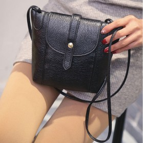 Tas Selempang Wanita Crossbody Purse Clutches Handbag - Black